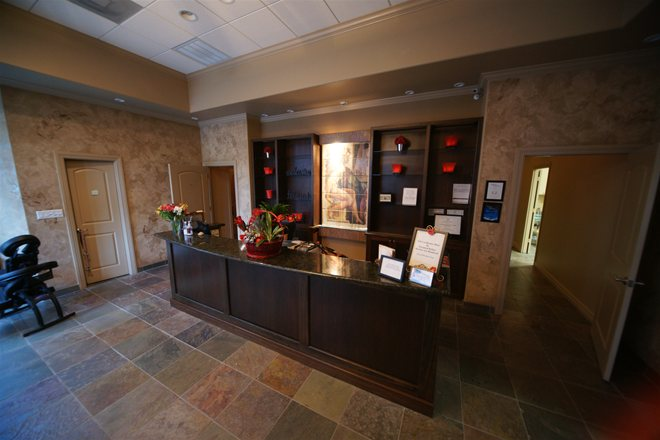 Luxury Day Spa Front Desk Houston Texas